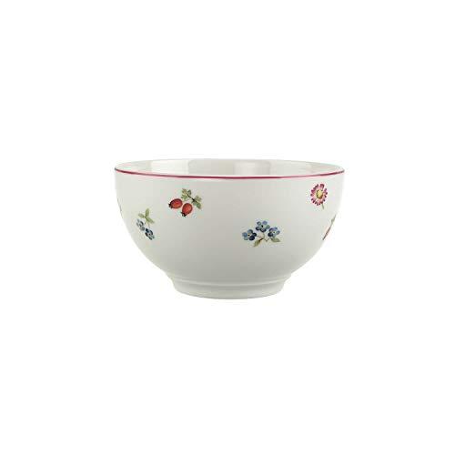 Villeroy & Boch Petite Fleur Müslischale, Premium Porzellan, Weiß/Bunt
