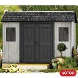 """Keter Oakland 11ft x 7ft 6"""" (3.4 x 2.3m) Side Door Shed"""