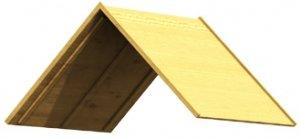Winnetoo - Holzdach für den Spielturm