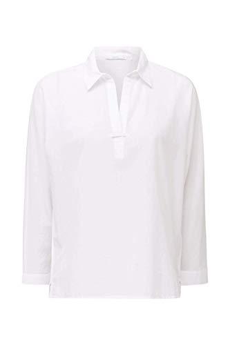 edc by ESPRIT Damen 030CC1F322 Bluse, 100/WHITE, M