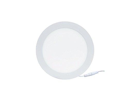 TDRSHINE LED Downlight, runde Ultradünne Panel Lichter, LED vertiefte Deckenleuchte, AC85-265V, LED Driver Include (12W)