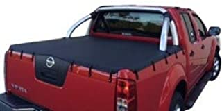 Bunji Ute Tonneau Cover to suit Nissan Navara STX/ST D40 Dual Cab, to fit Factory Sports Bars
