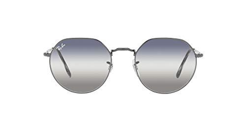 Ray-Ban 0RB3565 Gafas, Gunmetal, 53 Unisex Adulto