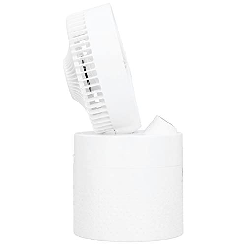 Humidificador de Ventilador, boquillas de Doble pulverización Aire Acondicionado portátil Enfriador de Aire Personal de 3 velocidades para Sala de Oficina en casa(White, Pisa Leaning Tower Type)
