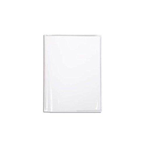 CALLIGRAPHE Lot de 6 Protège-cahiers Cristal Luxe 22/100ème 17x22 Transparent incolore