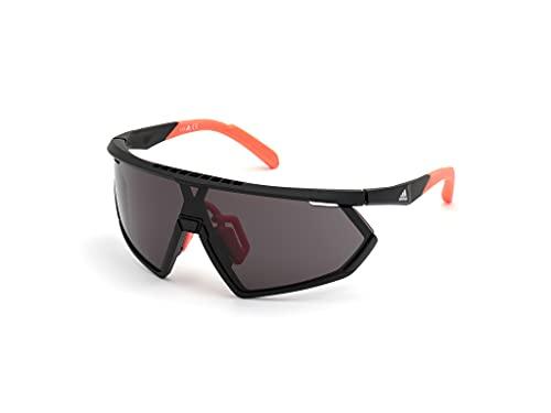 Sunglasses Adidas Sport SP 0001 02A Matte Black/Smoke Lenses + 2nd Lens Orange