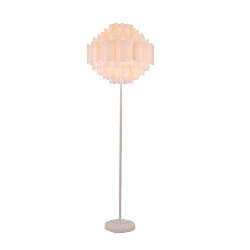 UWY Lámpara de pie, lámpara de pie LED para Sala de Estar de Dormitorio, lámpara de pie clásica, lámpara de pie Moderna para Dormitorio, Oficina, Sala de Estudio, lámpara de Noche de Ahorro de e