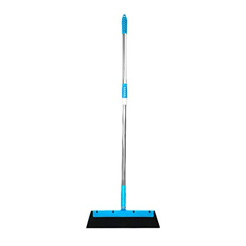 Dawns Floor Squeegee Mop Wet Room Water Squeegee Long,Multifunction Floor Squeegee Microfiber Mop 180 Degrees Rotatable Mop Broom Floor Cleaning Tools Magic Wiper Household Scraper