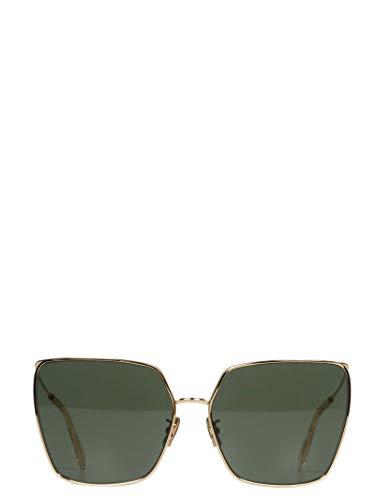 Luxury Fashion | Céline Dames 4S135CMLB35SG Goud Metaal Zonnebrillen | Seizoen Permanent