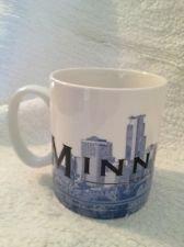 Starbucks Coffee City Scenes Series Minneapolis MN Mug Cup Excellent Vintage 2003 Coffee Cup Mug