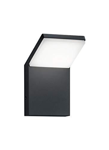 Trio Leuchten LED Außenleuchte Pearl 221160142, Druckguss Aluminium anthrazit, 1x 9 Watt