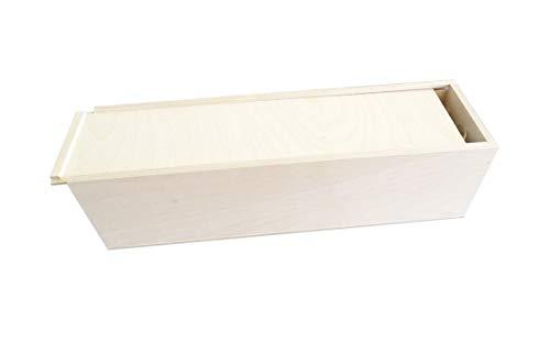 Geschenksbox, Weinkiste, Schnapskiste, 1er Schiebe Kiste 360 x 90 x 90