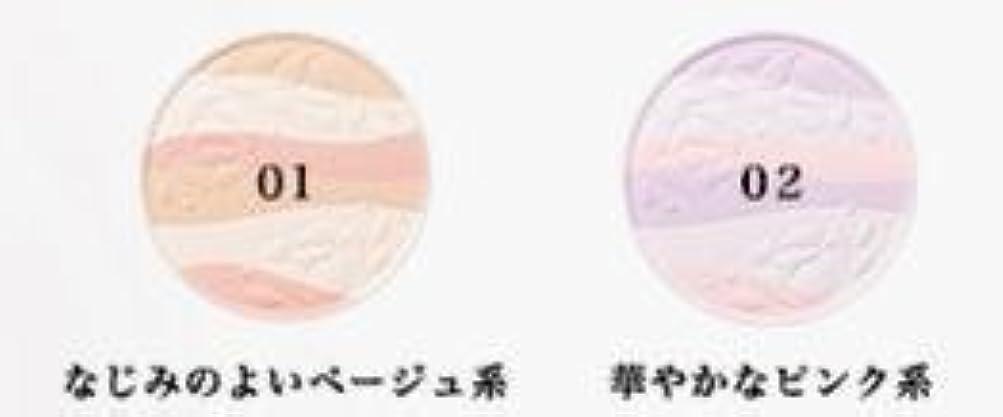 ガレージキリスト教グレードコーセー エスプリーク エクラ 明るさ持続 おしろい 02 リフィル(詰め替え用) 華やかなピンク系 ×1個