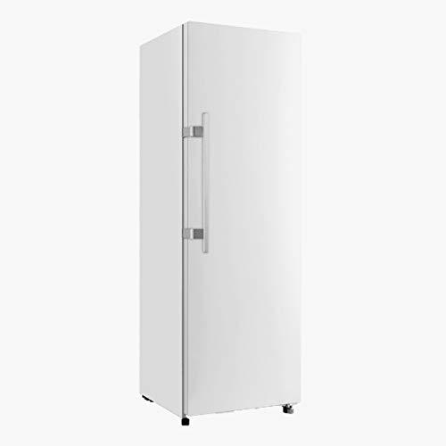 EAS ELECTRIC SMART TECHNOLOGY | EMR185SW1| Frigorífico Vertical | Blanco | 186x60 cm E/A++ Inox | Una puerta | Iluminación LED interior | Refrigerador 350 litros | Total no Frost