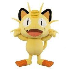 Pokemon Sun & Moon Big Large Plush Stuffed Doll - Meowth