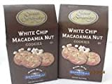 (2) Sweet Serenity Ghirardelli White Chip Macadamia Nut Cookie - 16 oz total