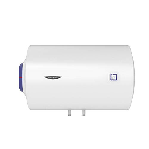 Ariston Termo eléctrico BLU1 Horizontal 100 litros, 230 V, 1500 W, Fabricado para ser instalado en España