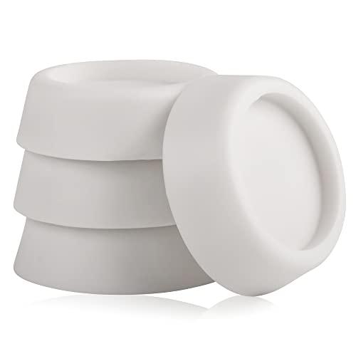 ECENCE Ammortizzatori di oscillazioni per la lavatrice 4x asciugatrice lavastoviglie attenuatore di vibrazioni accessorio pezzo di ricambio ammortizzatore piedini antiscivolo cuscinet