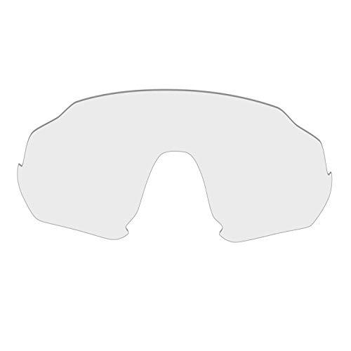 HKUCO Reforzarse Lentes de repuesto para Oakley Flight Jacket Gafas de sol TransparentePolarizado