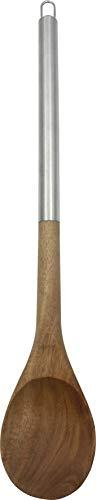 Fackelmann Nature Cuchara Remover Acacia. Madera y acero inoxidable. Color madera e inox. 35,5x6,6x1,5cm. 1ud.