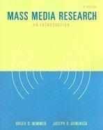 Mass Media Research: An Introductio…