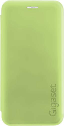 Gigaset Book Cover Hülle Full Body Schutzhülle (R&um Schutz vermeidet Schäden, anti-scratch, mit 360°, Zubehör für GS100 Smartphone) grün