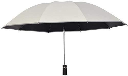 Paraguas invertido reversible resistente al viento invertido automático paraguas protección UV clima doble uso paraguas paraguas de coche paraguas hogar paraguas (color : azul)