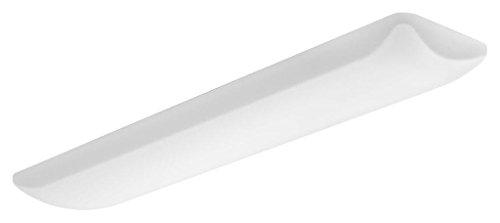 Lithonia Lighting 80CRI FMLL 14IN 40K 80 CRI LED Rectangle 48 14-Inch Puff Flushmount, 5000 Lumens, White, 14 inch wide, 4000K