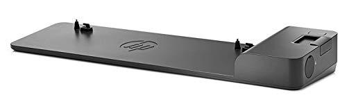 HP 2013 UltraSlim-Dockingstation D9Y32AA schwarz, ohne Netzteil (Generalüberholt)