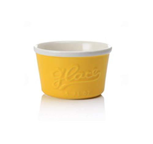 WXXT Tarta Taza para Hornear pequeña de cerámica para Hornear,la Taza para Hornear se USA para soufflé,pudín de Caramelo,natillas,pudín y Helado(6 Colores) 180ml