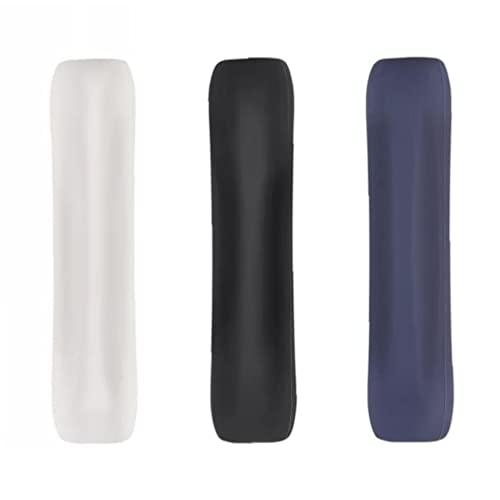 Soporte de agarre de silicona Compatible con lápiz de manzana Manga protectora antideslizante Wrap 3pcs negro azul blanco robusto y larga vida