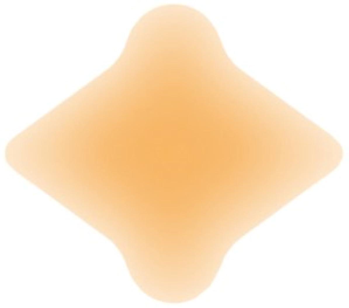 はっきりしない取得するバラエティソルボクッションパッド 外反母趾用(4枚入)オークル