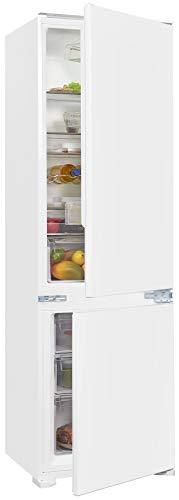 Exquisit Kühl- und Gefrierkombination EKGC270-70-E-040E | Einbaugerät | 248 l Volumen | Weiß