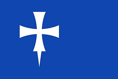 magFlags Bandera Large El Pueyo de Araguás, Huesca, España | Bandera Paisaje | 1.35m² | 90x150cm