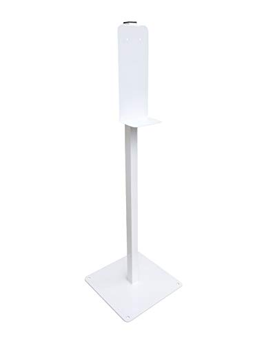 Portable Hand Sanitizer/Soap Dispenser Stand (White)