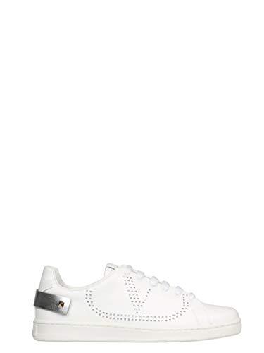 Luxury Fashion | Valentino Garavani Dames TW2S0M20FKZCZ7 Wit Leer Sneakers | Lente-zomer 20
