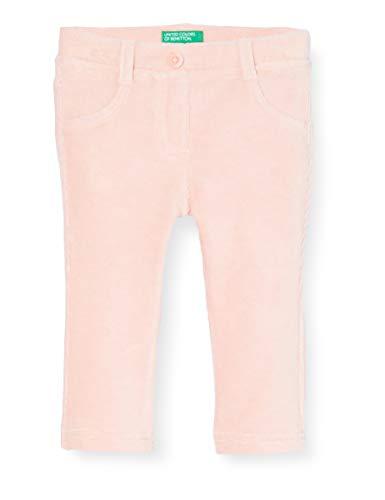 United Colors of Benetton (Z6ERJ) Mädchen Pantalone Hose, Peach Skin 04u, 98 cm