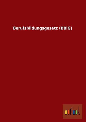 Berufsbildungsgesetz (BBiG)