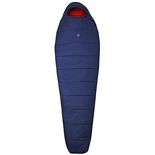 Fjällräven Damen Abisko Three Season W Schlafsack, Atlantic Blue, 175 cm