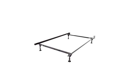 Mantua Heavy-Duty Insta-Lock Adjustable Bed Frame with 4 Glides