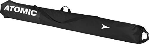 Atomic Ski-Sack Ski Sleeve, 210 x 34 cm, Längenverstellbar, Polyester, schwarz/schwarz, AL5038420