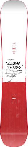 Nitro Herren Cheap TRILLS BRD´21 Snowboards, Mehrfarbig, 157