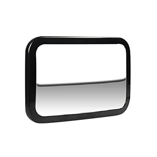 Toyvian Espejo de Punto Ciego de Cristal Convexo Espejo de Visión Trasera de Gran Angular Espejo Cuadrado Trasero de Bebé
