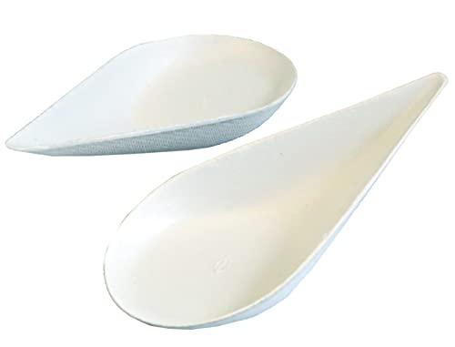NatureStar Cucchiaio biologico per finger food, canna da zucchero