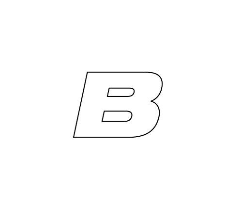 Simoni Racing ATB Tire Sticker bandensticker letter B
