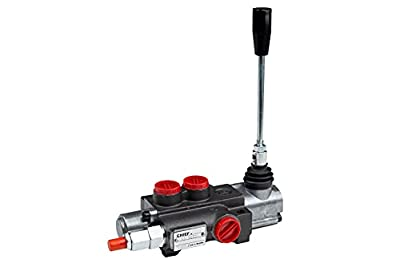 CHIEF Directional Control Valves (G Series): 10 GPM, SAE 10 Inlet/Outlet, 1 Spool, 3625 PSI, 1500-3625 PSI Relief Setting, SAE 8 Work Ports, 220906 from Bailey Hydraulics