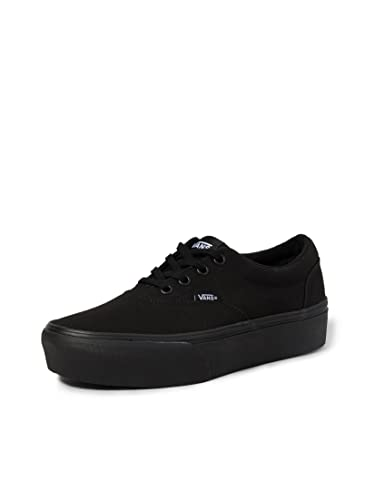 Vans Doheny Platform, Sneaker Mujer, Lona Negra, 37 EU