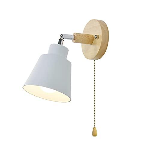 Kamenda Lámpara de pared industrial de metal, iluminación de pared, para niños, retro, vintage, ideal para dormitorio (Weii)