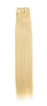 Euro soyeux tissage | Extensions de cheveux humains | 55,9 cm | couleur Blond Dream 24