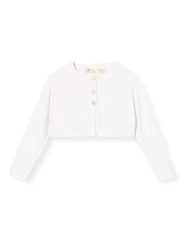 ZIPPY Baby-Mädchen Bolero De Punto Ss20 Kurzer Pullover, White, 12/18M